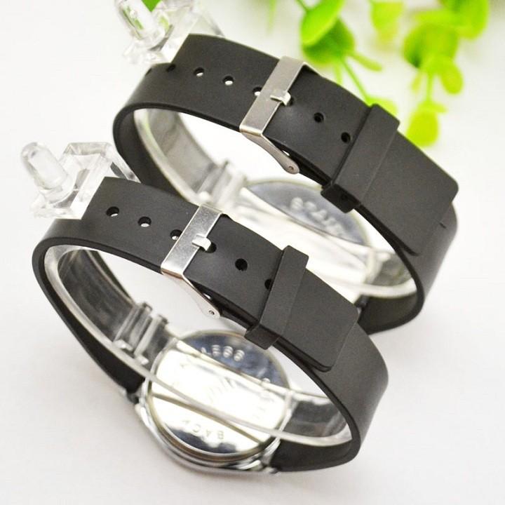 Đồng hồ đôi tình nhân phong cách Hàn Quốc SMM57, đồng hồ cặp mẫu mới nhất, tặng hộp và pin dự phòng, bảo hành 1 năm - DONGHODOI-TRANG2NGUOI 9