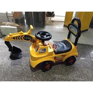 Xe cần cẩu cho bé - xe chơi ngoài trời - XCCCB thumbnail