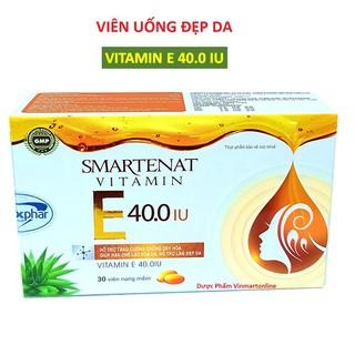 Viên uống đẹp da Hàn Quốc giúp bổ sung Vitamin E 4000mcg, , Om.ega 3 sáng mịn da, chống lão hóa - Hộp 30 viên dùng 1 tháng - Vitamin E 4000mcg thumbnail
