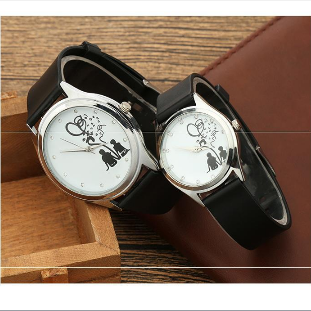 Đồng hồ đôi tình nhân phong cách Hàn Quốc SMM57, đồng hồ cặp mẫu mới nhất, tặng hộp và pin dự phòng, bảo hành 1 năm - DONGHODOI-TRANG2NGUOI 3