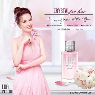 NƯỚC HOA NỮ LUA CRYSTAL FOR HER - Nước hoa nữ LUA CRYSTAL FOR HER 60ML thumbnail