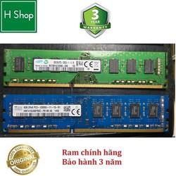 Ram PC DDR3 8Gb bus 1600 (12800U) và các loại khác, dùng cho PC bảo hành 36 tháng