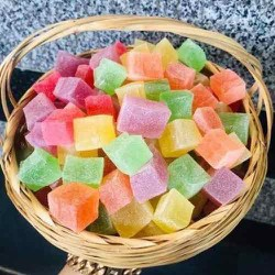 500g kẹo dẻo sữa 7 vị trái cây Đà Lạt