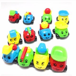 Bộ 12 xe công trình dễ thương cho bé vui chơi New4all - Xe-cong-trinh-12c thumbnail