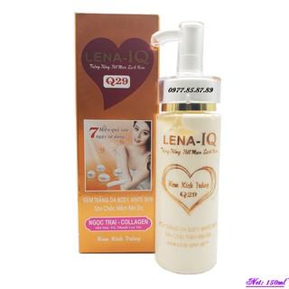 Mỹ Phẩm LENA-IQ - Kem dưỡng trắng, săn chắc mềm mịn da toàn thân dưỡng chất Ngọc Trai - Collagen Q-29 (150ml) - LN-Q29-2 thumbnail