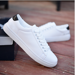 Giày sneaker nữ trắng phối màu RME [Mua 1 tặng 1 khẩu trang vải]