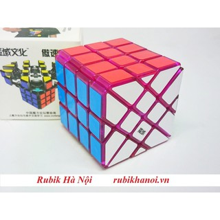 Rubik Moyu Aosu Fisher Yileng Transparent Purple Phiên Bản Giới Hạn - Aosu Fisher Yileng Transparent Purple thumbnail