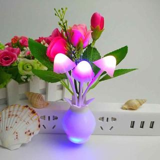 Đèn ngủ chậu hoa cây nấm - DEN-1 thumbnail