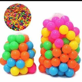 Đồ chơi bóng nhựa cho bé (set 15 quả) - bong thumbnail