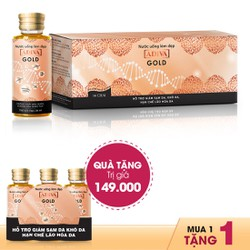 Collagen Gold Adiva Dạng Nước 14 lọ x 30ml + Tặng Collagen Gold Adiva Dạng Nước (3 lọ x 30ml)