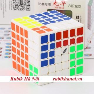 Rubik 6x6 Qiyi Wuhua V1 Trắng Cao Cấp - Qiyi Wuhua V1 Trắng Cao Cấp thumbnail