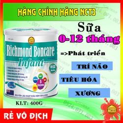 Sữa Cho Trẻ Sơ Sinh Richmond Boncare Infant 400G Hàng Công Ty Nct3
