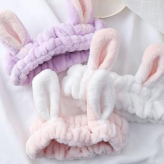Băng đô turban tai thỏ vải nhung 3D siêu xịn mềm mịn - Băng đô turban tai thỏ vải nhung 3D siêu xịn thumbnail