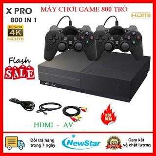 Máy chơi game 4 nút HDMI- Máy chơi game 800 trò chơi - máy chơi game điện tử 4 nút cổng kết nối HDMI - Máy chơi game 4 nút HDMI 800 trò chơi thumbnail
