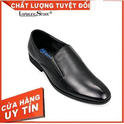 [HÀNG VIỆT NAM CHẤT LƯỢNG CAO] Giày tây nam da bò cao cấp giá rẻ, giày tây nam công sở với thiết kế lịch lãm, sang trọng [BẢO HÀNH CHÍNH HÃNG 12 THÁNG, ĐƯỢC ĐỔI SIZE] LAMHUNGAV5068- đen
