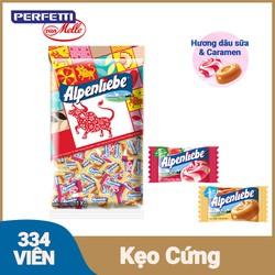 [ƯU ĐÃI TẾT] Kẹo Alpenliebe Hương Hỗn Hợp Dâu Kem & Caramen (Gói 1Kg)