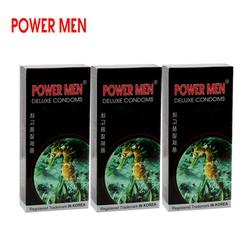 Bao cao su Powermen cá ngưạ combo 3 hộp 12 chiếc