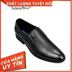 [HÀNG VIỆT NAM CHẤT LƯỢNG CAO] Giày tây nam da bò cao cấp giá rẻ, giày tây nam công sở với thiết kế lịch lãm, sang trọng [BẢO HÀNH CHÍNH HÃNG 12 THÁNG,ĐƯỢC ĐỔI SIZE] LAMHUNGAV5070-đen