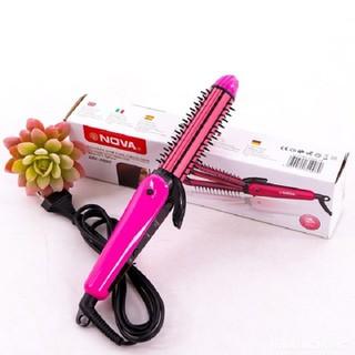 Lược điện tạo kiểu tóc 3 in 1 Nova 8890 - Lược điện 8890 thumbnail
