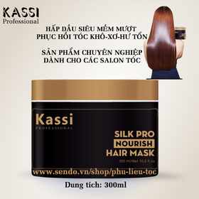 Hấp dầu KASSI NOURISH siêu mềm mượt - KASSI NOURISH HAIR MASK