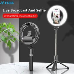 Gậy Selfie L07 5 Inch Kết Nối Bluetooth Có Đèn Led Hỗ Trợ Chụp Ảnh Selfie  Sáng Rõ