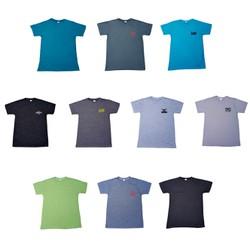 Áo thun Nam chất 100% cotton thấm hút mồ hôi VNXK dư size L/XL/2XL cho Nam từ 45-75kg màu ngẫu nhiên