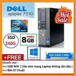 Máy tính đồng bộ Dell Optiplex Core i5 3470 / 8G / SSD 240gb - Bảo Hành 24 Tháng 1 đổi 1