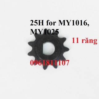 Nhông cho sên 25H motor MY1025 MY1016 - Nhông cho sên 25H thumbnail