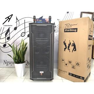 Loa kéo PROSING W215B karaoke di động bass 4 tấc đôi - W215B thumbnail