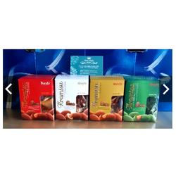 6 hộp Socola tiramisu BERYLS MALAYSIA - Socola nhân hạnh nhân HŨ 100GRAM VÀ HŨ 200 GRAM - đủ 4