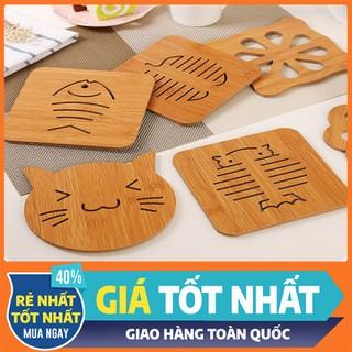 Đế lót nồi chảo bằng gỗ - LNBG-1 thumbnail