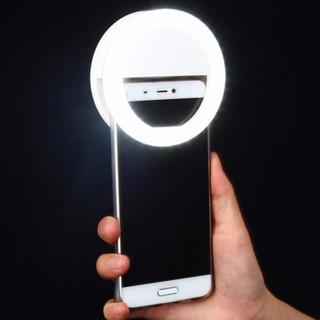 Đèn chụp ảnh tự sướng 3 chế độ sáng kèm cáp sạc - Đèn chụp ảnh tự sướng 3 chế độ sáng kèm cáp s thumbnail