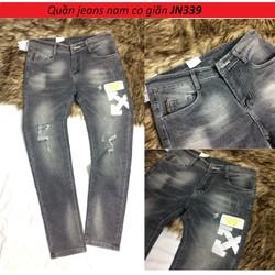 Quần jeans nam co giãn vải đẹp JN339