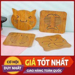 Tấm lót nồi niêu chén bát ly bằng gỗ tiện dụng - LNBG-1 thumbnail