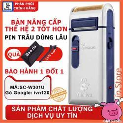 máy cạo râu ivn120 YANDOU SC-w301u 2 chức năng