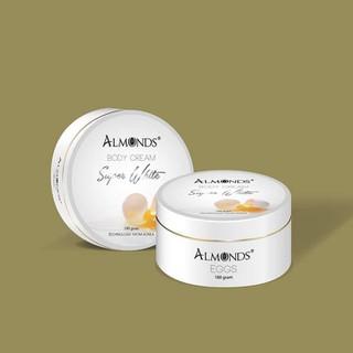 Dưỡng body trứng gà Almonds phiên bản dùng thử - Almonds23 thumbnail