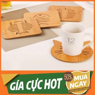 Đế lót nồi bằng gỗ họa tiết đa dạng - LNBG-1 thumbnail