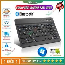Bàn phím Bluetooth mini không dây cho máy tính bảng ,Laptop có thể sạc lại