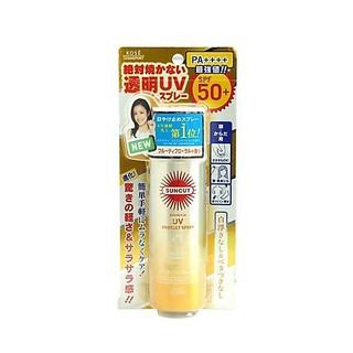 XỊT CHỐNG NẮNG KOSE SUNCUT PROTECT SPRAY SPF50+ PA++++ 60g (VÀNG) - KOSEVANG thumbnail