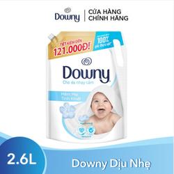 Nước Xả Vải Downy Dịu Nhẹ Hương Sả Túi 2.6L