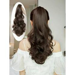 tóc ngoặm xoăn 45cm đẹp( hỗ trợ phí 10k)
