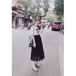 Đầm hoặc Set áo và chân váy nhiều mẫu 40-60kg áo thun , váy lụa