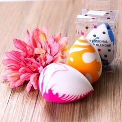 04 Mút trang điểm tán phấn tự nhiên hình quả trứng dễ tán đều và chống trôi phấn