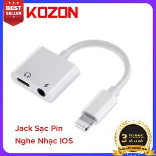 Jack Đổi cổng IOS vừa sạc vừa nghe nhạc ,kết nối ổn định nghe nhạc hay không bị rè - KZJACK thumbnail