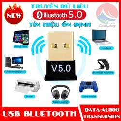 USB Bluetooth 5.0 bổ sung bluetooth cho máy tính để bàn, cho laptop bị hỏng bluetooth USB V5.0 CSR DONGLE