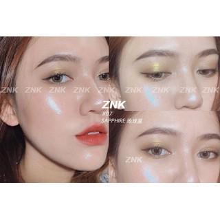 Phấn bắt sáng highlighter nhũ lấp lánh rực rỡ mỹ phẩm nội địa Trung cao cấp - HLZNKUNI thumbnail