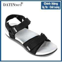 Giày Sandal Nam Quai Ngang DATINNOS ( Đen Xanh Rêu ) - SDDN104