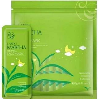 [Dùng thử]1gói 3G Mặt nạ ngủ trà xanh Matcha Laikou chính hãng - ONLINEHOMEMARK - ONLINE 81 thumbnail
