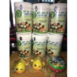 Sỉ 3kg(6 hộp) Ngũ cốc, bột ăn dặm Việt Lộc (Tuỳ chọn ib)