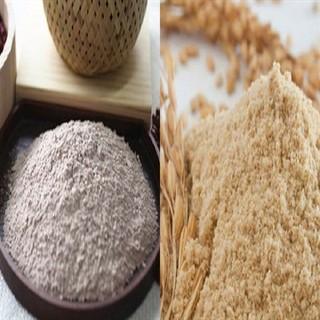 Bột cám gạo cực mịn nhà làm (200gram)